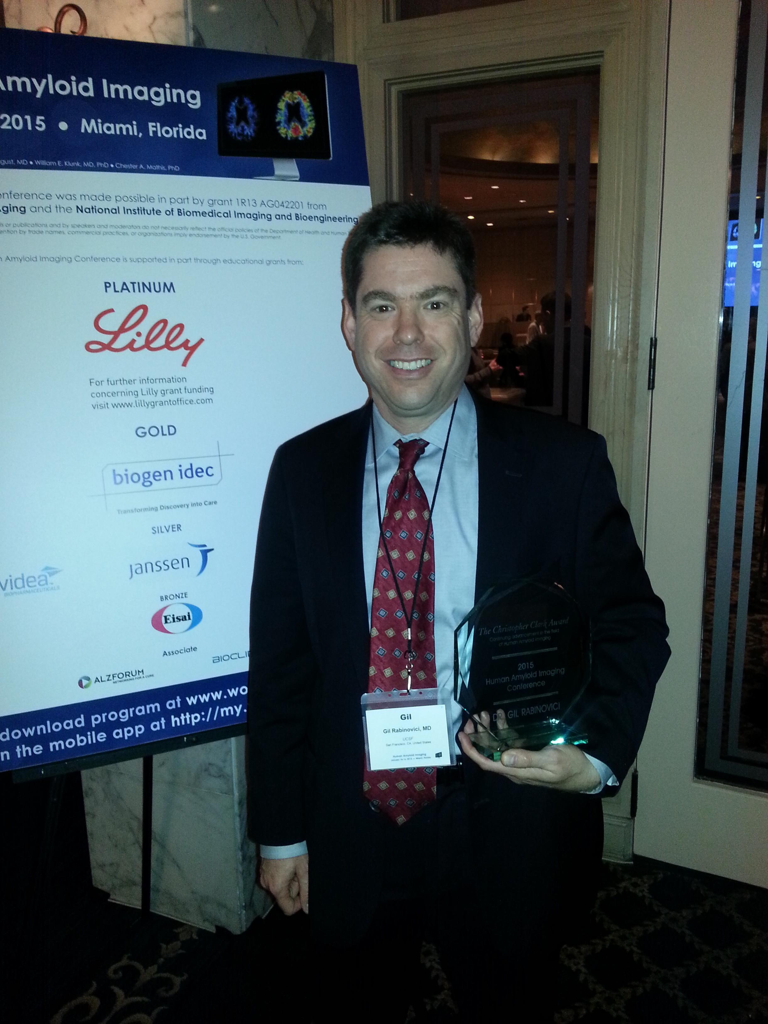 Dr. Gil Rabinovici - HAI Clark Award 2015